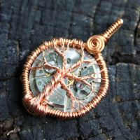 Steampunk Tree of Life Pendant by Create-A-Pendant