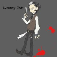 Sweeney Todd by matsutakedo