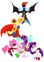 My Little Super6 by soypepsi