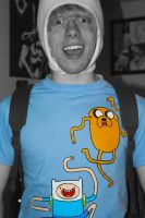 My new Adventure Time shirt by Valashard