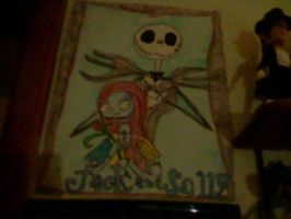 jack and sally by GothicTaco198