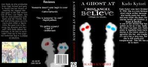 A Ghost at beLIEve book cover by KadoAngel13