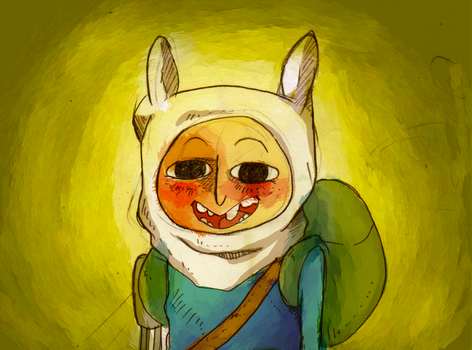 Finn the Human by CurlyPoCkY