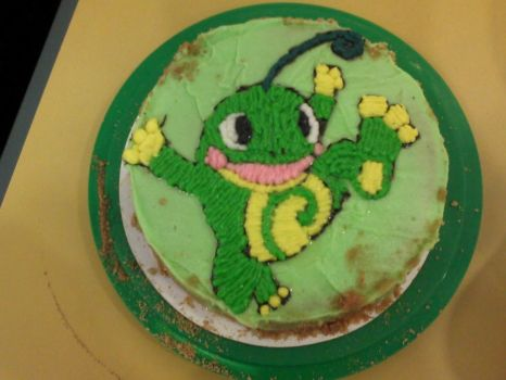 Politoed Cake by Xtremesonic