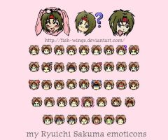 Gravitation emoticons by fish-wings