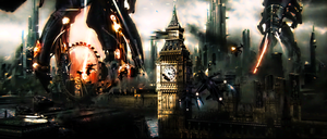 Disturbed London by american-superman