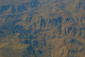 Grand Canyon - Aerial View by PatGoltz