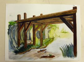 Latch and Bridge wip by Jaganshye