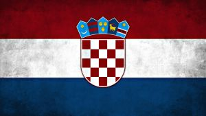 Croatia Flag Grunge Wallpaper by SyNDiKaTa-NP