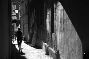 old alley by Ajdica