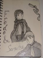 Frodo and Sam by ShiniKitty13