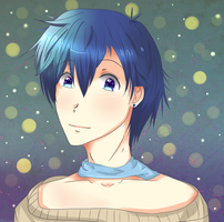 Cute Kaito by MikaAlaMode