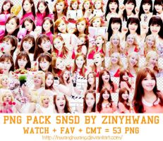 [PNG PACK#5] SNSD By Zinyhwang by Hwanghwang