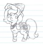 Sketch of Woona from Moonstuck by Angelkitty17