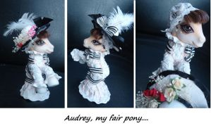 Audrey, my fair pony by AmbarJulieta
