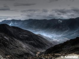 View from Pico del Aguila HDR by amesho