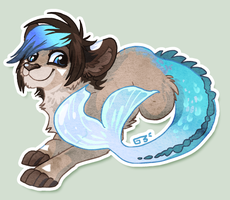 Vaporeontail by griffsnuff