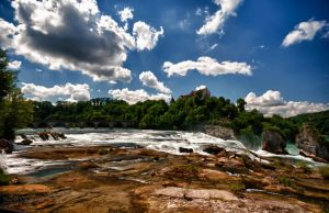 Above Rhinefalls 2 HDR by Creative--Dragon