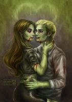 Zombie love by daekazu