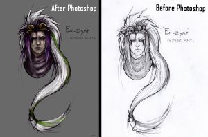 Before and After by 501JOXTER