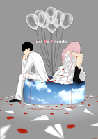 Vocaloid - Just Be Friends by moontown0125