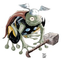 Thor Frog by kevinmellon