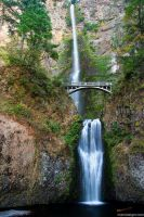 multnomah falls v2 by stranj