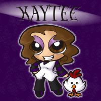 Kaytee and Mr. Chicken by jewelschan