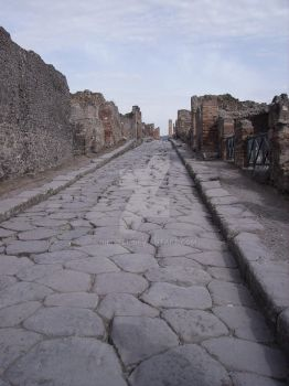 The Roads of Pompeii by Nimhell