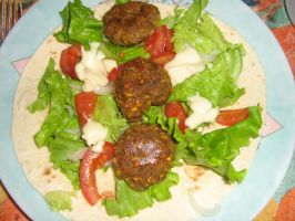 Vegan food : falafel by LouvaTwilight