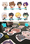 KHR Stickers (Vongola/Varia) for sale! by mmella