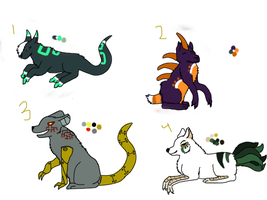 free creature adopts CLOSED by forestwind48