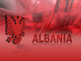 Albanian 3D Eagle Wallpaper by MondiG