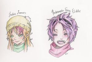 Winter Headshots by MB-Bunny