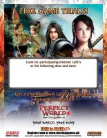 Perfect World Boot Camp Flyer by Ardnaz