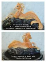 Palomino - Windstone Editions Hippocampus 2 by 96037