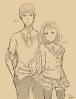 MS: School Time by Hhui