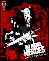 No More Heroes Poster by Sinji-Unleashed
