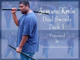 Samurai Kevin Dual Swords PACK 1 by themuseslibrary