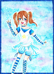Pseudo Magical Girl Merle by chocobeery