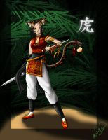 Chinese Tiger by SparkOut1911