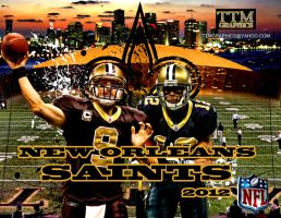 New Orleans Saints Wallpaper by tmarried