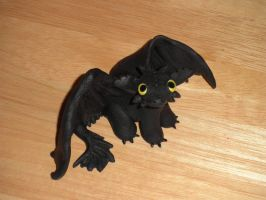 Toothless the Night Fury by KumoriYori
