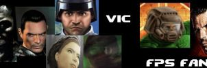 Banner - Vic FPS FANGIRL by vicrabb
