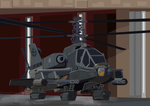 Allied Combat Helicopter 'Hell Raider' by SoFDMC