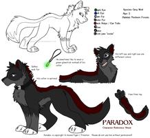 Paradox ref sheet 2008 by KaiserTiger