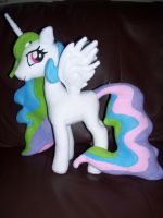 Princess Celestia plushie work in progress by EquestriaPaintings