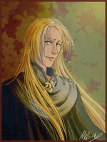 Portrait of Glorfindel by MellorianJ