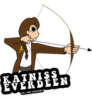 Katniss Everdeen Vs. The Capitol by 7daysleft