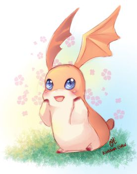 -- Digimon : Patamon -- by Kurama-chan